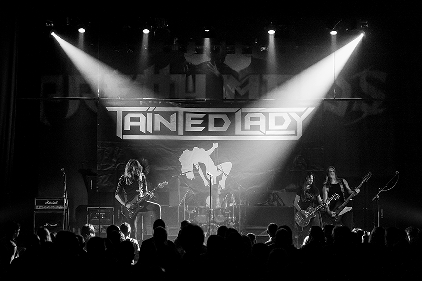 """Rock aften med """"Tainted Lady"""""""