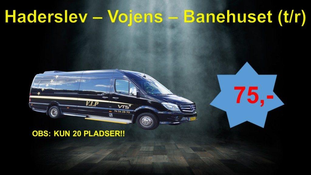 Buskørsel til Anders Blichfeldt